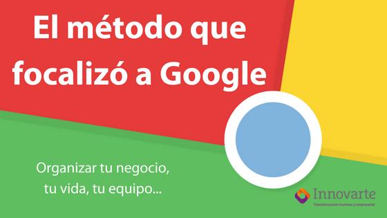 El método que focalizó a Google