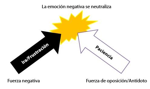 La emoción negativa se neutraliza